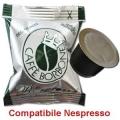 100 Cialde caffè Borbone Respresso miscela VERDE DECAFFEINATO co