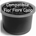 50 CAPSULE CAFFE' INTENSO/C COMPATIBILI FIOR FIORE COOP